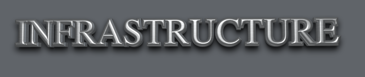 INFRASTRUCTURE GRAY BACKGROUND